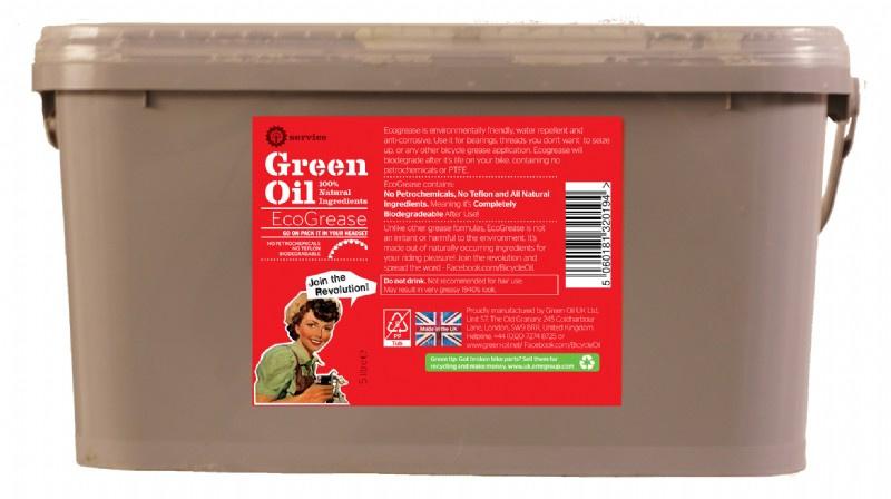 Green Oil montagevet EcoGrease lagervet 5 liter