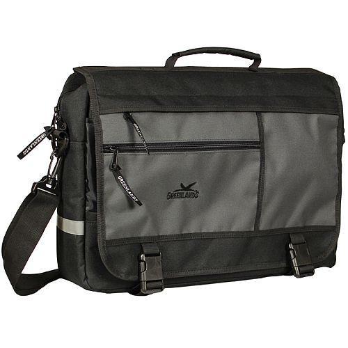 Greenlands laptoptas 15 liter zwart/grijs