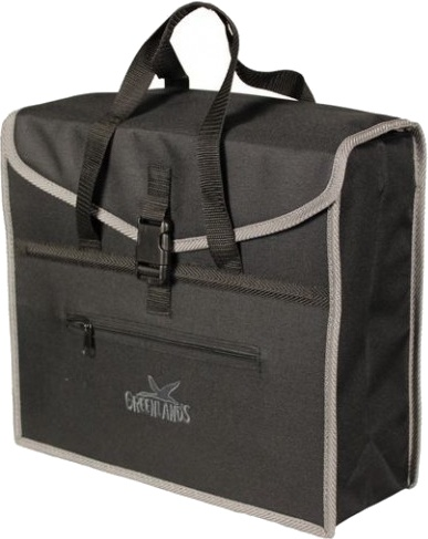 Greenlands shopper Trendy 19 liter zwart/grijs