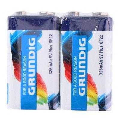 Grundig batterijen 9V blok 6F22 2 stuks