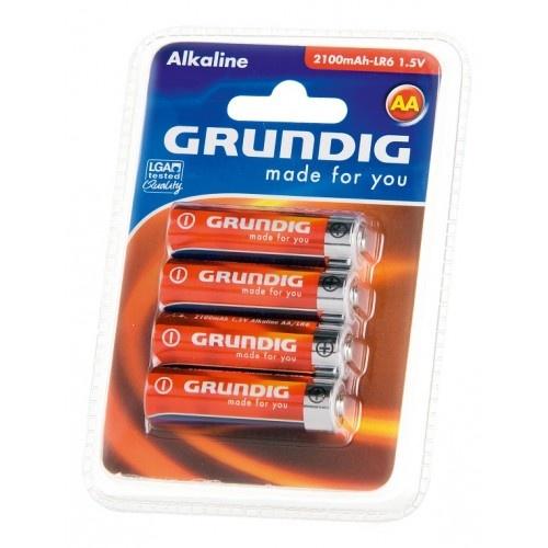 Grundig batterijen alkaline LR6 AA 4 stuks