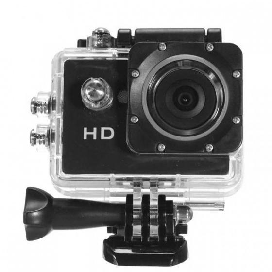 grundig hd action camera 720p waterproof black internet. Black Bedroom Furniture Sets. Home Design Ideas