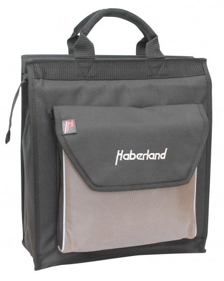 Haberland shopper 15 liter zwart/zilver
