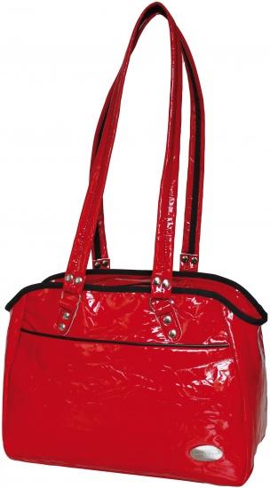 Haberland Modieuze Dames Shopper 15L Lak Rood