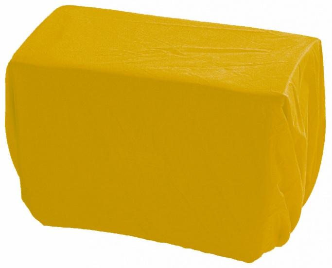 Haberland regenhoes voor stuurtas 8 liter geel