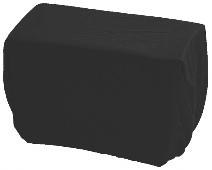 Haberland regenhoes voor stuurtas 8 liter zwart