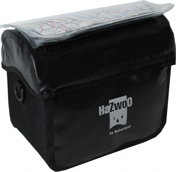 Haberland stuurtas HaZwoO 8 liter zwart