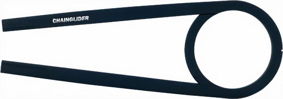 Hebie kettingscherm Chainglider 350F 455 mm 48T ABS zwart
