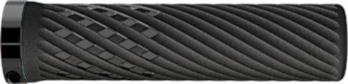 Herrmans handvatten Luna Lock 130 x 22 mm elastomeer zwart