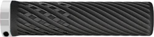 Herrmans handvatten Luna Lock 130 x 22 mm elastomeer zwart/wit