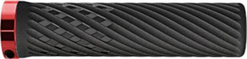 Herrmans handvatten Luna Lock 90/130 x 22 mm zwart/rood
