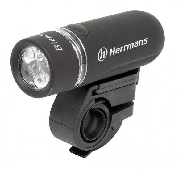 Herrmans Voorlicht LED Blenda II Batterij Zwart