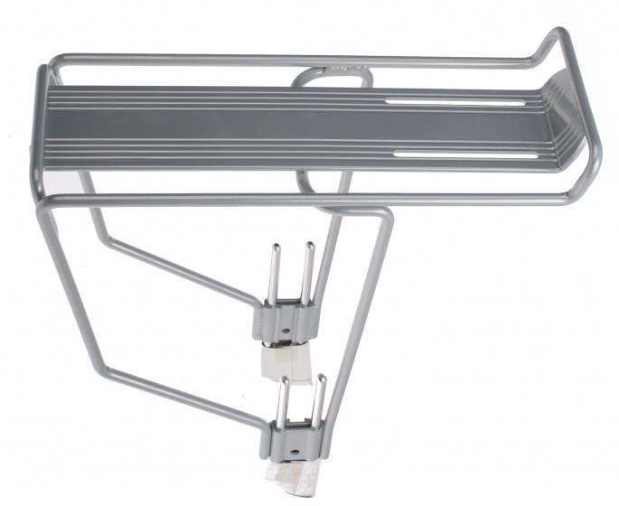 Hesling bagagedrager verstelbaar 24 26 inch aluminium grijs