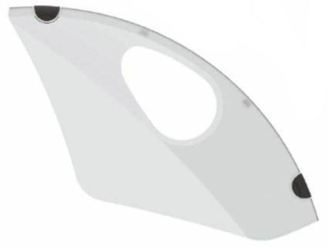 Hesling jasbeschermer Lucra 28 inch transparant