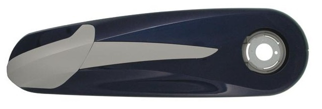 Hesling Kettingkast Saber 28 inch gesloten blauw 63x18,5 cm