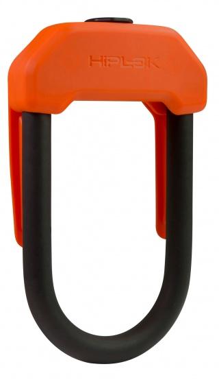 Hiplok U slot DX 14 mm staal oranje/zwart