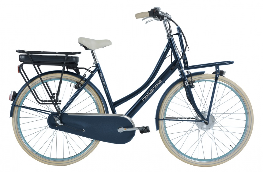 Hollandia - Royal Ride E3 28 Inch 53 Cm Dames 3v V-brake Jeansblauw