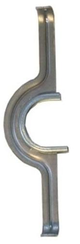 Horn kettingscherm beugel Catena 220 x 45 mm 46T alu zilver