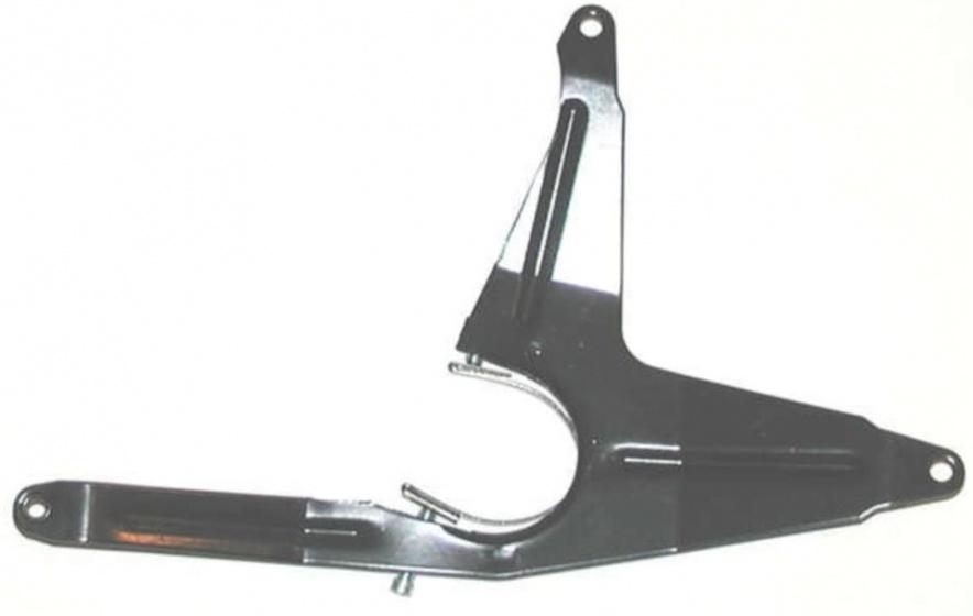 Horn kettingscherm beugel Catena Compact 230 x 40 mm 48T zwart