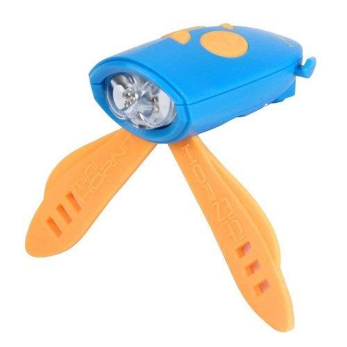 Hornit voorlicht met 25 geluidseffecten blauw/oranje