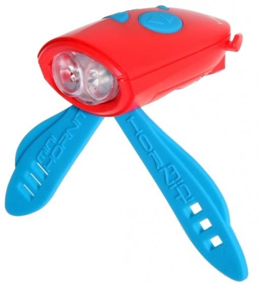 Hornit voorlicht met 25 geluidseffecten rood/blauw