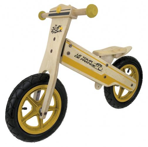Kids Club - Loopfiets Tour De France 12 Inch Junior Geel