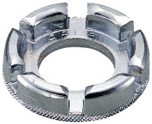 Hozan nippelspanner 10 15G zilver