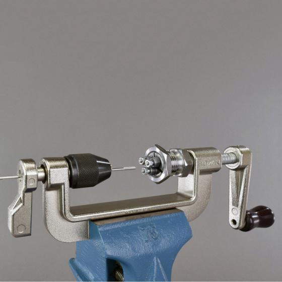 Hozan spaakdraadmachine C 702 staal 13/14/15G zilver/zwart