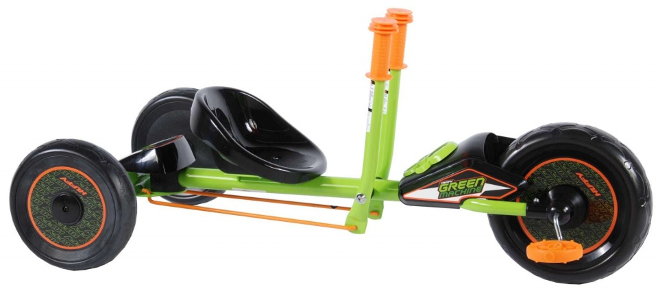 Huffy Green Machine 10 Inch Junior Zwart/Groen