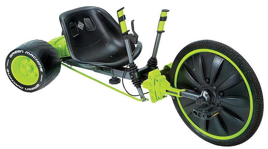 Huffy - Green Machine 20 Inch Junior Zwart/groen