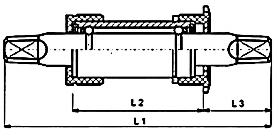 Hulzebos trapas BSA 107 x 31 mm zwart/grijs
