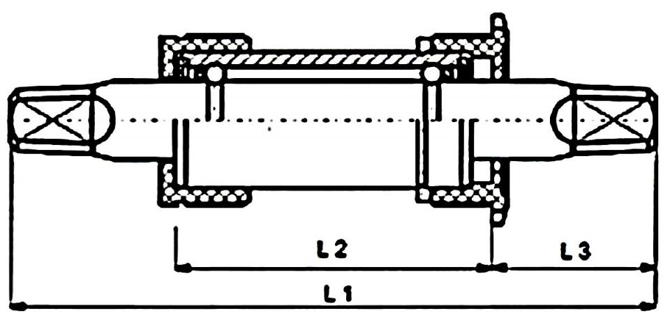 Hulzebos trapas BSA 107 x 34 mm zilver