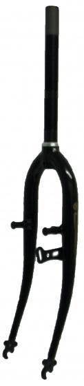 Hulzebos voorvork vast 26 inch dynamohaak 1 inch zwart