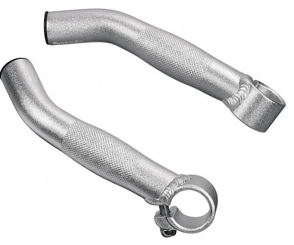 Ergotec Bar END 833 Aluminium Zilver Per 2 Stuks