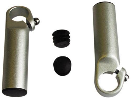 Ergotec Bar END 895 Aluminium Zilver Per 2 Stuks