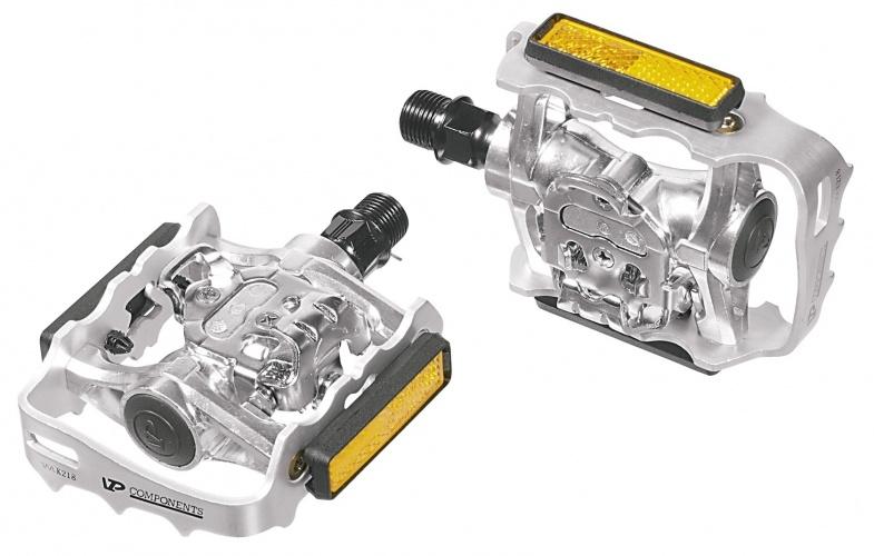 Ergotec Klikpedaal MTB X 92 9/16 Inch Zilver Set