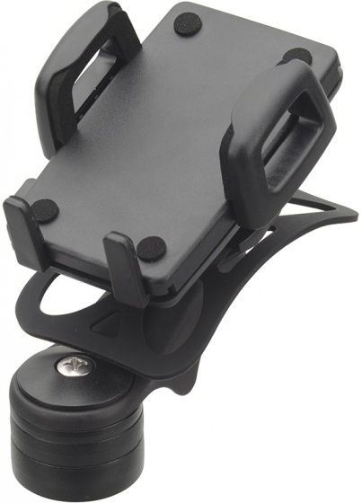 Humpert telefoonhouder stuurpen zwart 56 85 mm