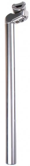 Humpert zadelpen vast 25,8 x 350 mm aluminium zilver