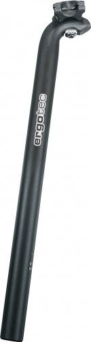 Ergotec Zadelpen vast Hook 31,6 X 400 mm aluminium zwart