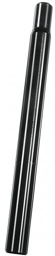 Ergotec Zadelpen vast kaars 25,4 x 300 mm aluminium zwart