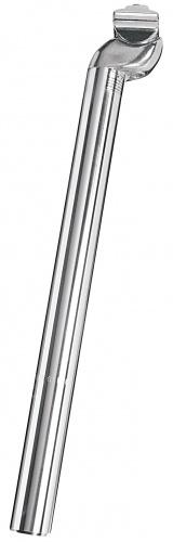 Ergotec Zadelpen vast Patent 28,0 x 350 mm aluminium zilver