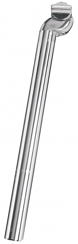 Ergotec Zadelpen vast Patent 26.8 x 350 mm aluminium zilver
