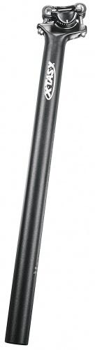 Xtasy Zadelpen vast Skalar 26,8 x 400 mm aluminium zwart
