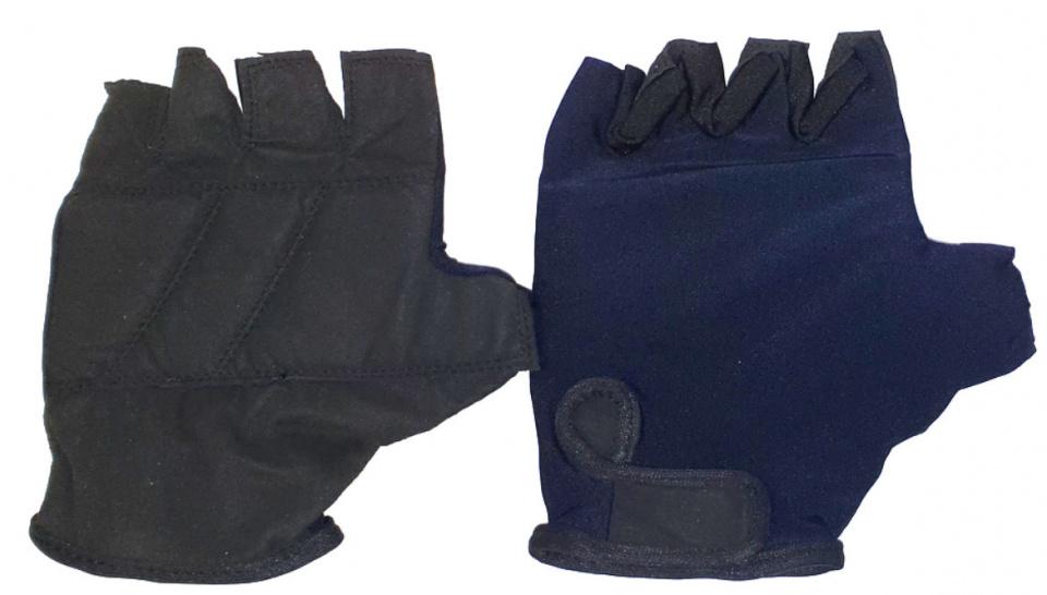 HZB fietshandschoenen Solid Comfort lycra donkerblauw maat S