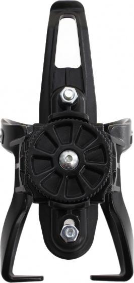 Ibera verstelbare bidonhouder 60 73 mm kunststof zwart