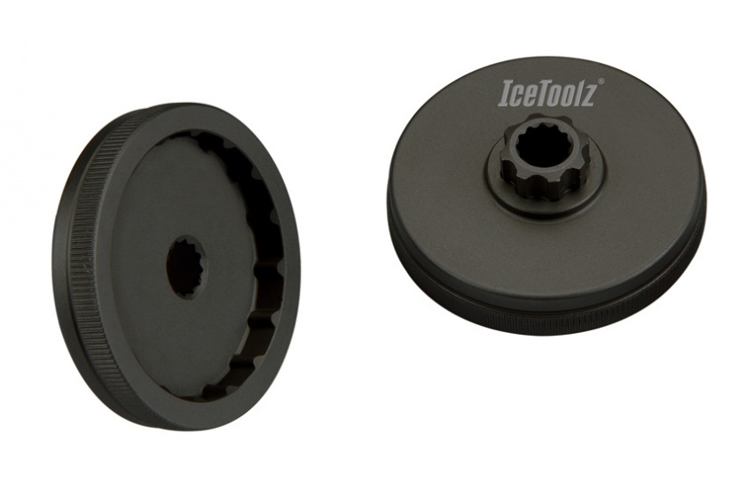 IceToolz crankadapter Shimano Hollowtech II set