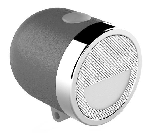 Ikzi Light koplamp Nero led 7 cm zwart