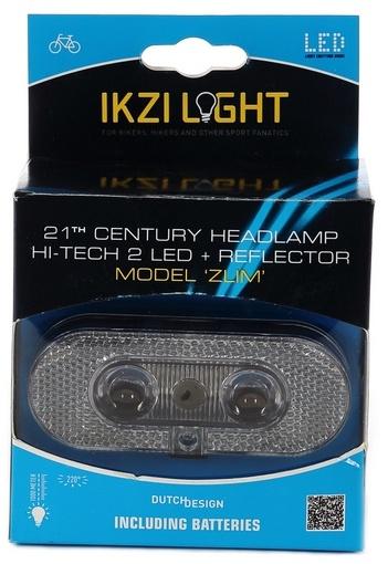 Ikzi Light koplamp Zlim led zwart