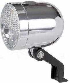 Ikzi Light retro koplamp Nero zilver