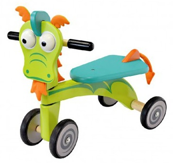 I'm Toy Loopfiets Draak Junior Groen/Blauw